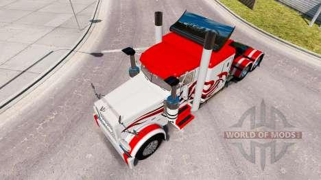 La piel Jammin Engranajes para que el camión Peterbilt 389 para American Truck Simulator