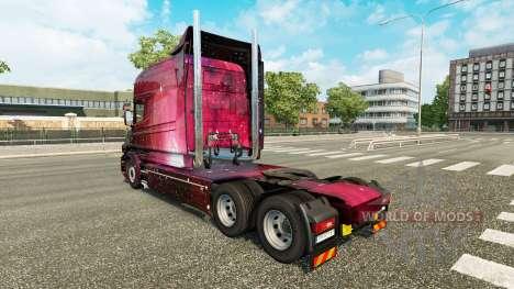 Weltall de la piel para camión Scania T para Euro Truck Simulator 2