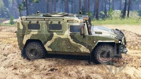 GAZ-2330 Tigre para Spin Tires
