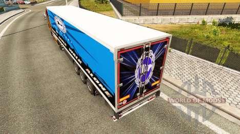 La piel Arminia Bielefeld en semi para Euro Truck Simulator 2