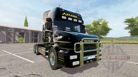 Scania T164 Apache para Farming Simulator 2017