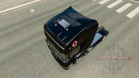 La piel de Euro Truck Simulador de camiones Scan para Euro Truck Simulator 2