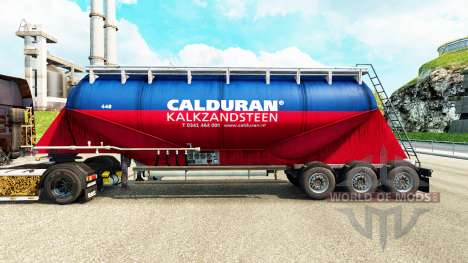 La piel Calduran cemento semi-remolque para Euro Truck Simulator 2
