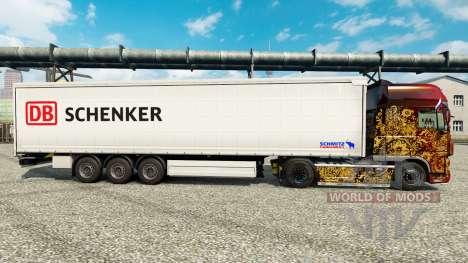 Schenker skin for trailers para Euro Truck Simulator 2