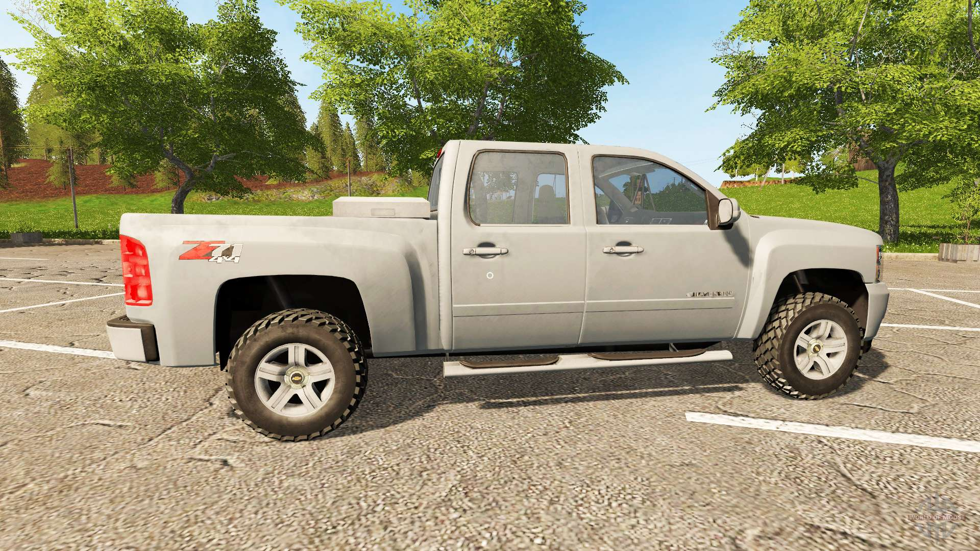 chevrolet silverado lt z71 para farming simulator 2017. Black Bedroom Furniture Sets. Home Design Ideas