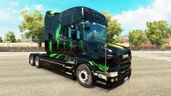 Monster Energy de la piel para el Scania T tract