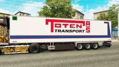 Semi-remolque frigorífico Chereau Toten Transpor