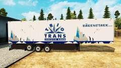 Semitrailer el refrigerador Schmitz Trio Trans