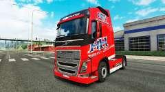 El Transporte pesado de la piel para camiones Vo