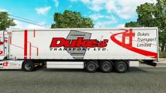 Los duques de Transporte de la piel para remolqu