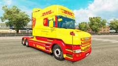 La piel de DHL para Scania camión T