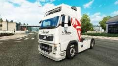 Viking Express de la piel para camiones Volvo