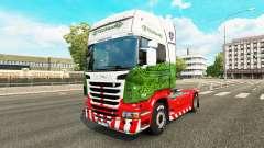 La piel ETS2Studio en el tractor Scania