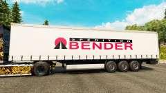 La piel Spedition Bender en semi