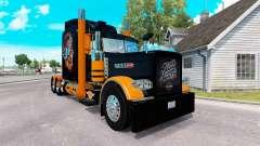 La piel de Harley-Davidson para el camión Peterb
