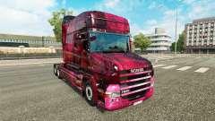 Weltall de la piel para camión Scania T