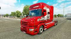 La piel Scania Historia en el camión Scania T