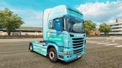 Siemens piel para Scania camión