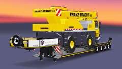 Baja barrido de camión grúa Liebherr LTM 1030