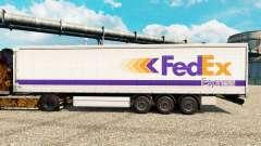 FedEx Express piel para remolques