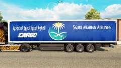 La piel Saudi Arabian Airlines para remolques