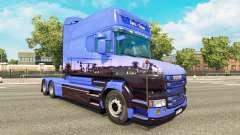 Euro Trans de la piel para Scania camión T
