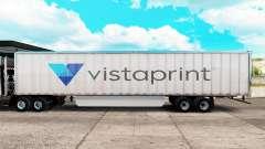La piel Vistaprint trailer extendido