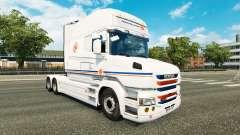 Transalliance de la piel para Scania camión T