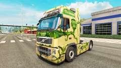 La piel de la Corona camión tractor Volvo