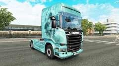 Cráneo de la piel para camión Scania