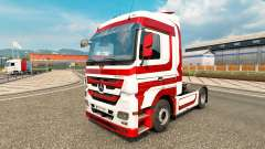 La piel Metálica para tractor Mercedes-Benz