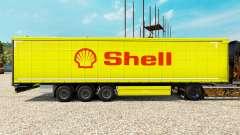 La piel de Shell para semi-remolques