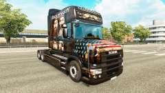 La piel del Pato de la Dinastía de camiones Scan