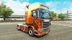 Espíritu libre de la piel para Scania camión