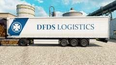 DFDS Logística de la piel para remolques