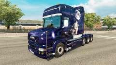 Lobo de la piel para camión Scania T