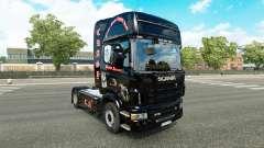 La piel Crasy Trans Logística v2.0 camión Scania