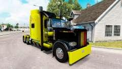 Vanderoel de la piel para el camión Peterbilt 38