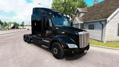 La piel Taylor Express camión Peterbilt 579