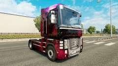 Weltall de la piel para Renault Magnum camión