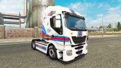 Martini Racing piel para Iveco tractora