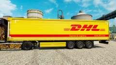 La piel de DHL para remolques