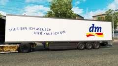 Semitrailer el refrigerador Schmitz DM Droguería