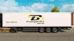 TB Transportes de la piel para remolques