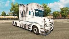 Los piratas de la piel para camión Scania T