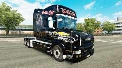 Gato negro de la piel para Scania camión T