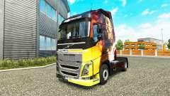 La piel de los Momentos Mágicos de Volvo trucks