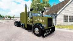 WW2 la piel Limpia para que el camión Peterbilt