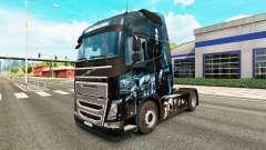 El inframundo de la piel para camiones Volvo