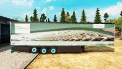 Semitrailer el refrigerador Schmitz Siemens